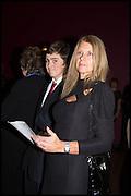 JAMES COLE; ELIZABETH COLE;, Allen Jones private view. Royal Academy,  London. 11 November  2014.