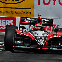 Justin Wilson at Indycar April 2011, Long Beach