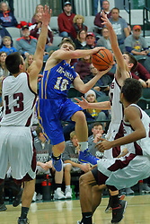 27 December 2017: State Farm Holiday Classic Coed Basketball Tournament at Shirk Center, Bloomington Illinois<br /> <br /> SFHC - Small Boys Annawan Braves v Tri-Valley Vikings