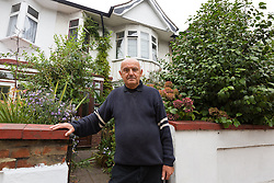 © Licensed to London News Pictures. 20/09/2014. London, UK. Landlord, Radoslav Andric outside his property at 257 Boston Manor Road, which police searched yesterday in connection with the disappearance of Alice Gross. The address is believed to be connected to the partner of Arnis Zalkalns. Photo credit : Vickie Flores/LNP