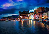 """Twilight over Marina Grande Sorrento""...<br />