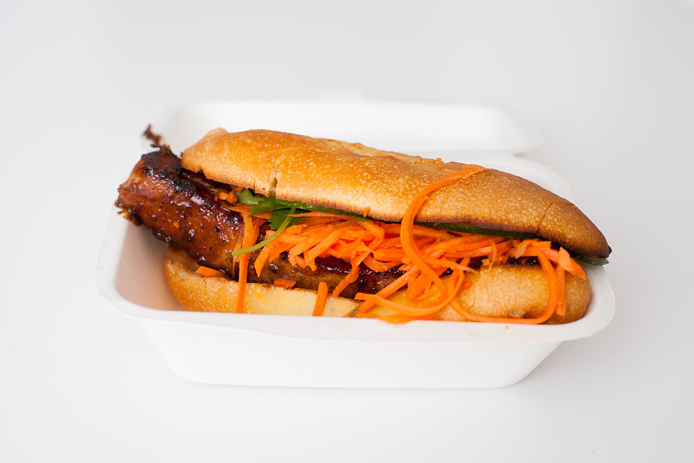 Five-Spice Pork Belly Sandwich from Num Pang ($10.07)