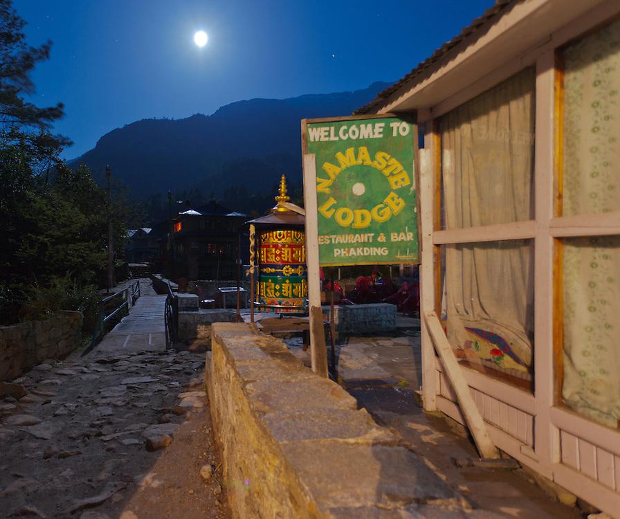 Nepal at Night