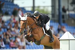 Stangel Marian, (SVK), Badarco<br /> Team Competition round 1 and Individual Competition round 1<br /> FEI European Championships - Aachen 2015<br /> © Hippo Foto - Stefan Lafrentz<br /> 19/08/15