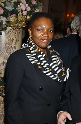 BARONESS AMOS at The Business Winter Party hosted by Andrew Neil at The Ritz Hotel, Piccadilly, London on 7th December 2005.<br /><br />NON EXCLUSIVE - WORLD RIGHTS