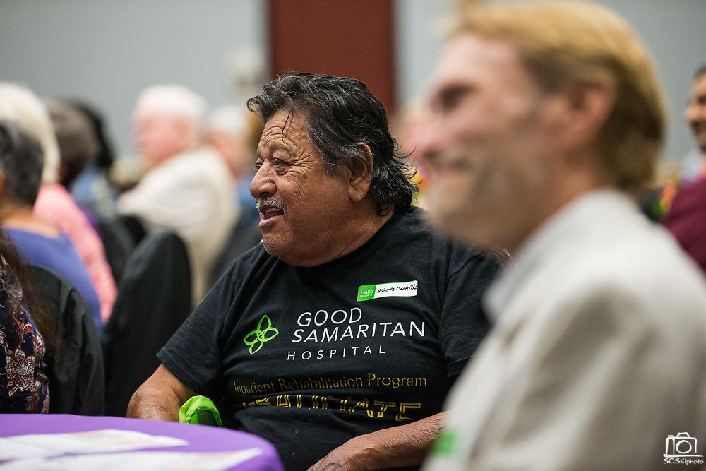 Good Samaritan Hospital hosts it's annual National Cancer Survivor Day Event at the Addison-Penzak Jewish Community Center of Silicon Valley in Los Gatos, California, on June 21, 2018. (Stan Olszewski/SOSKIphoto)