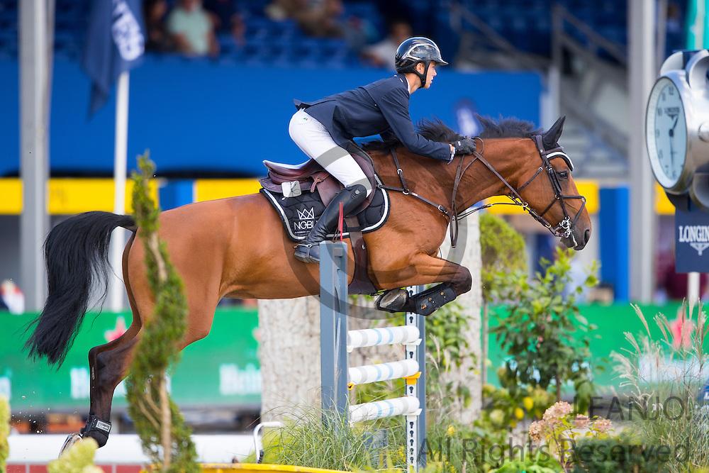 Gilles Thomas - Jakarta van t Ravennest<br /> FEI World Breeding Jumping Championships for Young Horses 2016<br /> © DigiShots