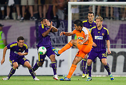 Christian of Apoel during football match between NK Maribor and APOEL FC, (Cyprus) in Third qualifying round, Second leg of UEFA Champions League 2014, on August 6, 2013 in Stadium Ljudski vrt, Maribor, Slovenia. (Photo by Vid Ponikvar / Sportida.com)
