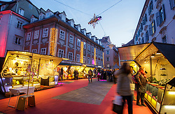 THEMENBILD -Der Design-Christkindlmarkt am Mehlplatz am 24. November 2017 in Graz // THEMES PICTURE - A design christmas market at the 'Mehlplatz' on 24 November 2017 in Graz, Austria. EXPA Pictures © 2017, PhotoCredit: EXPA/ Erwin Scheriau