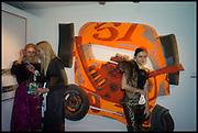 OLIVIA ROUSSEL; SOPHIE KLOOSTERMAN; EVA LANSKA;,  Sotheby's Frieze week party. New Bond St. London. 15 October 2014.