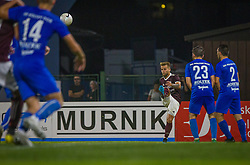 16# Gasper Udovic of NK Triglav Kranj during the match of 6th. round of 2. Slovenian National League between NK Triglav Kranj an NK Roltek Dob, on 12.09.2020 in Kranj, Slovenia. Photo by Urban Meglič / Sportida