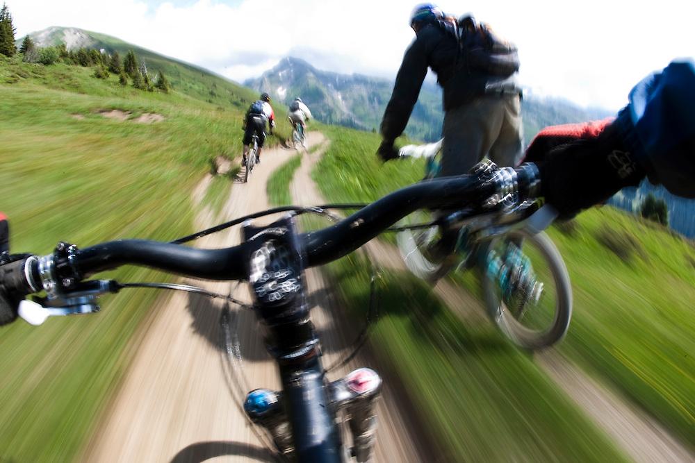 Rider: Matthieu Dietrich, Jean-Baptiste Mogasik, Damien Violi.?Location: Les Portes du Soleil (France)
