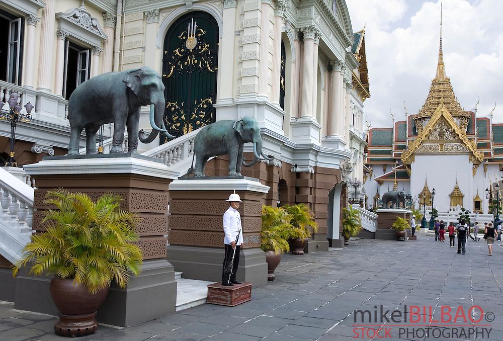 Chakri Mahaprasad Hall. Grand Palace. Bangkok, Thailand