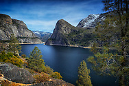 Hetch Hetchy outside of Yosemite National Park