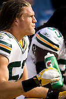 "Clay Matthews of the Green Bay Packers  for Gatorade ""In the Game"" campaign."