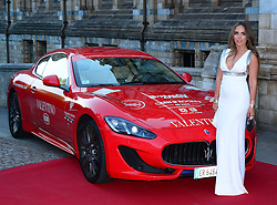 Image ©Licensed to i-Images Picture Agency. 08/06/2014. London, United Kingdom. Chloe Green attends Cash & Rocket tour gala dinner closing party which concludes tour through four European cities in luxury cars. Beginning earlier this month, the drive took 70 women through Europe, raising money for three African charities including Shine on Sierra Leone, OrphanAid Africa and Sumbandila, at Natural History Museum. Picture by Nils Jorgensen / i-Images