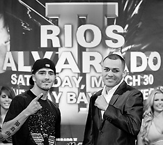 March 28, 2013: Brandon Rios vs Mike Alvarado II Final Press Conference