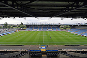 A general view of the Kassam Stadium before the Pre-Season Friendly match between Oxford United and Brighton and Hove Albion at the Kassam Stadium, Oxford, England on 26 July 2016.