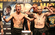 Warrington v Martinez Weigh-in 120517
