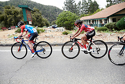 Coryn Rivera (USA) in the break at Amgen Tour of California Women's Race empowered with SRAM 2019 - Stage 2, a 74 km road race from Ontario to Mount Baldy, United States on May 17, 2019. Photo by Sean Robinson/velofocus.com