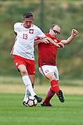 Lublin, Poland - 2017 June 16: during soccer match Football Media Team PL v PZPN at Lublin Arena on June 16, 2017 in Lublin, Poland.<br /> <br /> Mandatory credit:<br /> Photo by &copy; Adam Nurkiewicz / Mediasport<br /> <br /> Adam Nurkiewicz declares that he has no rights to the image of people at the photographs of his authorship.<br /> <br /> Picture also available in RAW (NEF) or TIFF format on special request.<br /> <br /> Any editorial, commercial or promotional use requires written permission from the author of image.