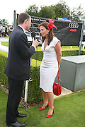 Davina McCall , Glorious Goodwood. 2 August 2007.  -DO NOT ARCHIVE-© Copyright Photograph by Dafydd Jones. 248 Clapham Rd. London SW9 0PZ. Tel 0207 820 0771. www.dafjones.com.