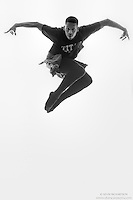 Black and white dance photography- Eagle- featuring Dance As Art dancer Jarrett Rashad