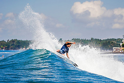 BALI, INDONESIA - MAY 19: Griffin Colapinto of the United States is eliminated from the 2019 Corona Bali Protected with an equal 17th finish after placing second in Heat 7 of Round 3 at Keramas on May 19, 2019 in Bali, Indonesia. (Photo by Damea Dorsey/WSL via Getty Images)