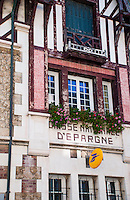 A bank in Trouville-sur-Mer, Normandy, France