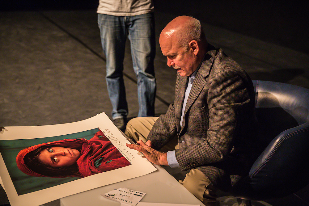 Steve McCurry on Photo13 in Switzerland