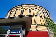 asisi Panometer (ehem. Gasometer), Reick, Dresden, Sachsen, Deutschland.|.asisi panometer (former gasometer), Reick, Dresden, Germany