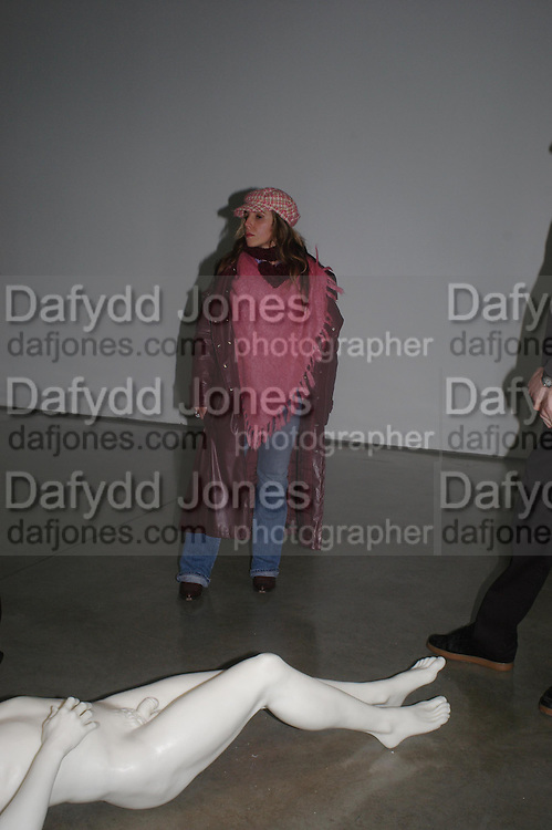 Bertha Diaz. Chemical Life Support opening, White Cube. 3 March 2005. ONE TIME USE ONLY - DO NOT ARCHIVE  © Copyright Photograph by Dafydd Jones 66 Stockwell Park Rd. London SW9 0DA Tel 020 7733 0108 www.dafjones.com