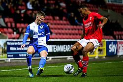 Joe Budd of Bristol Rovers - Mandatory by-line: Robbie Stephenson/JMP - 29/10/2019 - FOOTBALL - County Ground - Swindon, England - Swindon Town v Bristol Rovers - FA Youth Cup Round One