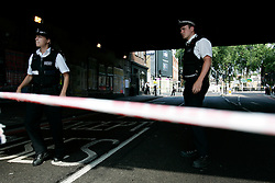 UK ENGLAND LONDON 21JUL05 - Metropolitan Police have cordoned off Hackney Road following a reported blast on No 26 London double-decker bus. Minor explosions using detonators have occurred at three London Underground stations and a London double-decker bus earlier today...jre/Photo by Jiri Rezac ..© Jiri Rezac 2005..Contact: +44 (0) 7050 110 417.Mobile:  +44 (0) 7801 337 683.Office:  +44 (0) 20 8968 9635..Email:   jiri@jirirezac.com.Web:    www.jirirezac.com..© All images Jiri Rezac 2005 - All rights reserved.