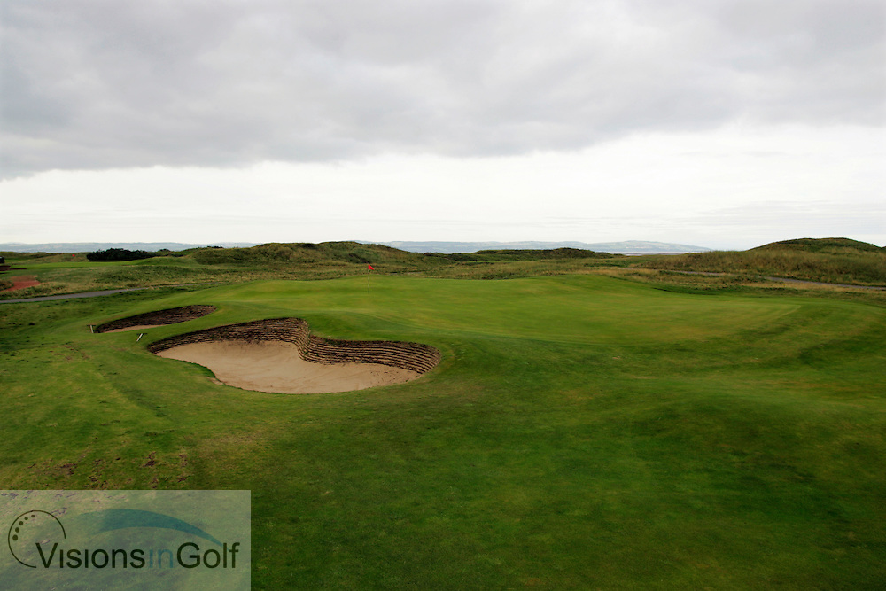 3rd hole, Royal Liverpool GC, Hoylake, UK.<br /> Picture Credit:  Mark Newcombe / visionsingolf.com