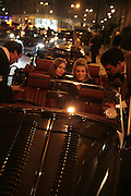 Anouska Beckwith and Olivia Buckingham in a Morgan sports car, The Essential Party Guide Evening of Golden Glamour. The Ballroom, Mandarin oriental, Hyde Park. 27 March 2007. -DO NOT ARCHIVE-© Copyright Photograph by Dafydd Jones. 248 Clapham Rd. London SW9 0PZ. Tel 0207 820 0771. www.dafjones.com.