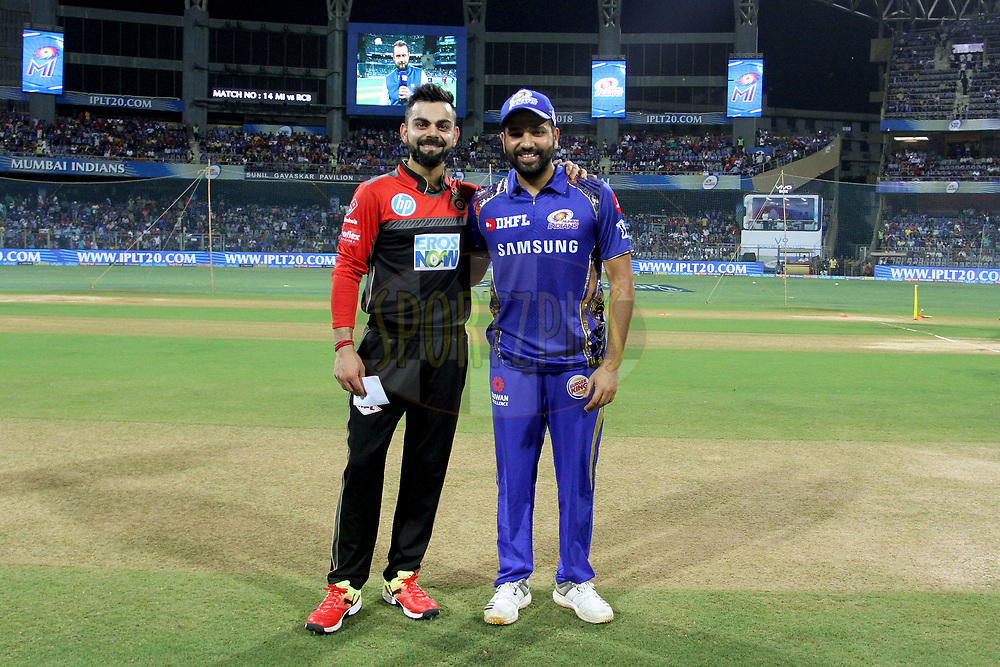 Image result for rohit and kohli toss