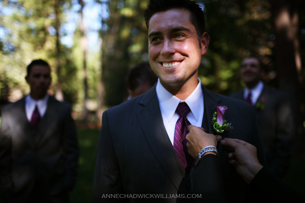 Groomsman before wedding.