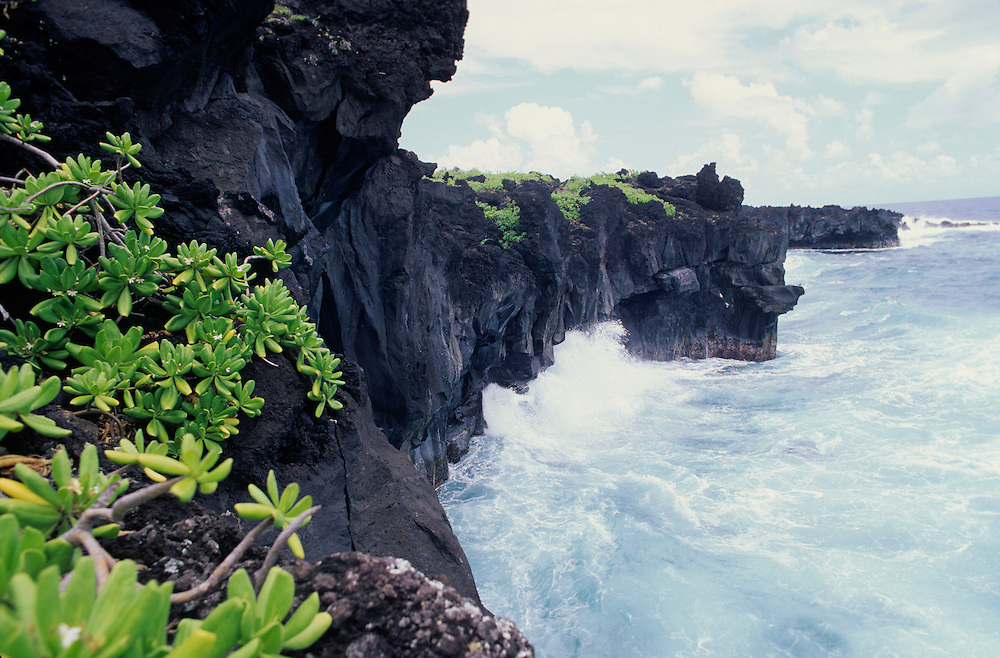 Hawaii, Maui, The Valley Island, Hana maui coastline view