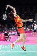 Badminton Day 3 London 2012