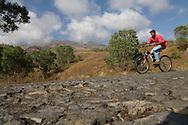 Cape Verde. The road to the volcano  Fogo Island     / Cap-Vert:  la route qui mene au cratere du volcan  ile de Fogo    /11