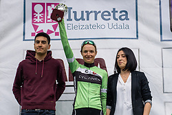 Doris Schweizer (Cylance Pro Cycling) awarded most combatitive rider - Emakumeen Bira 2016 Stage 1 - A 76.6km road stage starting and finishing in Eskoriatza, Spain on 14th April 2016.