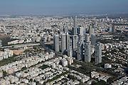 Modern highrises, Tel Aviv, Israel
