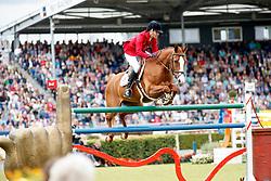 Diniz, Luciana (POR), Fit for Fun<br /> Aachen - CHIO 2017<br /> Grosser Preis von Aachen Rolex Grand Prix<br /> © www.sportfotos-lafrentz.de/Stefan Lafrentz
