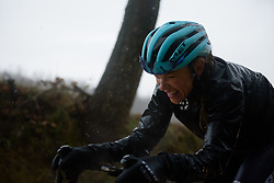 Tayler Wiles at Strade Bianche - Elite Women 2018 - a 136 km road race on March 3, 2018, starting and finishing in Siena, Italy. (Photo by Sean Robinson/Velofocus.com)