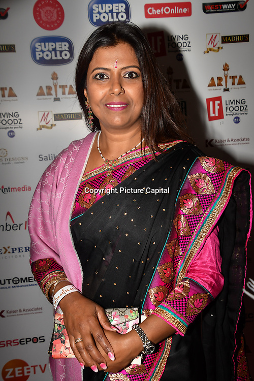 Cllr Shamshai Ali of Redbridge attend at Asian Restaurant & Takeaway Awards | ARTA 2018 at InterContinental London - The O2, London, UK. 30 September 2018.