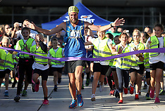 UK: Ben Smith marathon challenge, 5 Oct. 2016