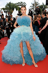 72nd Cannes Film Festival 2019, Red Carpet film A Hidden Life. 19 May 2019 Pictured: 72nd Cannes Film Festival 2019, Red Carpet film A Hidden Life Alina Baikova. Photo credit: Pongo / MEGA TheMegaAgency.com +1 888 505 6342