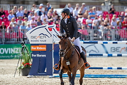 WERNKE Jan (GER), QUEEN MARY 10<br /> Münster - Turnier der Sieger 2019<br /> MARKTKAUF - CUP<br /> BEMER-Riders Tour - Qualifier for the rating competition (comp no 11)  - Stechen<br /> CSI4* - Int. Jumping competition with jump-off (1.50 m) - Large Tour<br /> 03. August 2019<br /> © www.sportfotos-lafrentz.de/Stefan Lafrentz