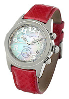red leather band invicta watch